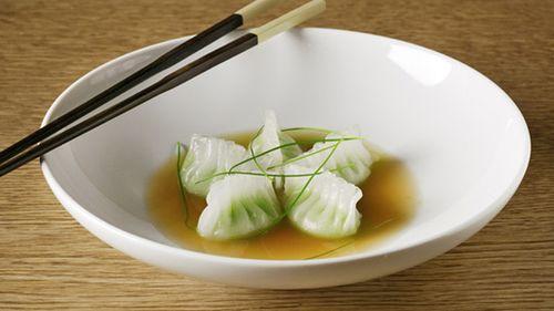 NYC Weekend + Edamame Dumplings Recipe