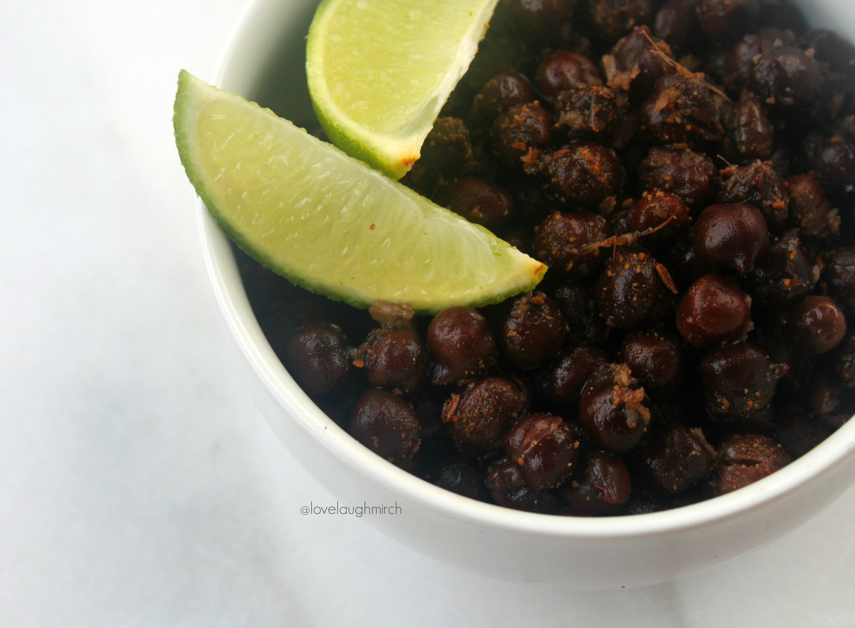 Kala Chana | Spiced Black Chickpeas