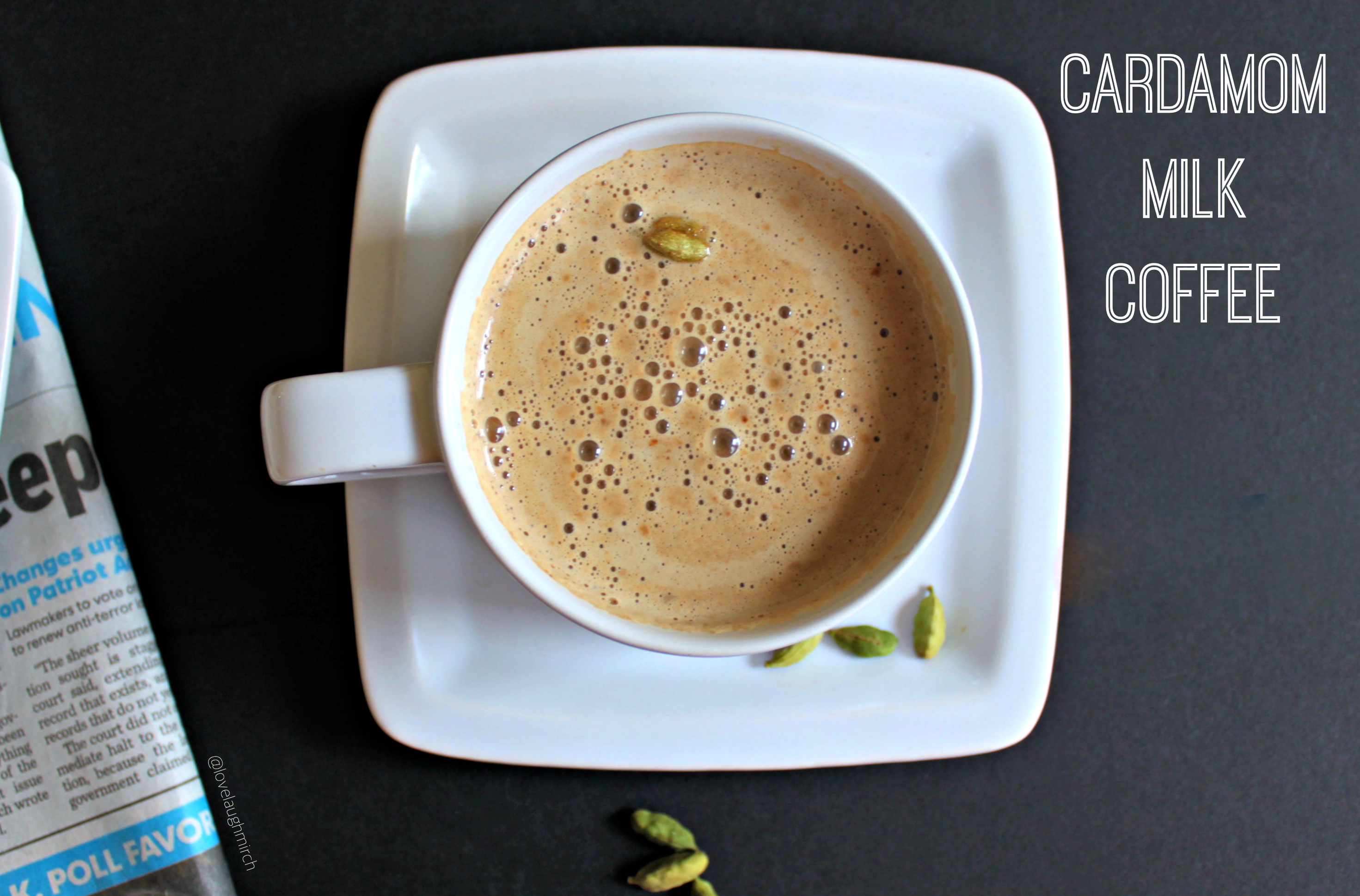 Cardamom Milk Coffee
