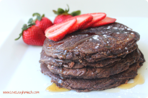 Nutella Coffee Pancakes