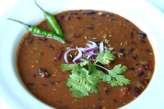 Kashmiri Rajma [creamy kidney beans]