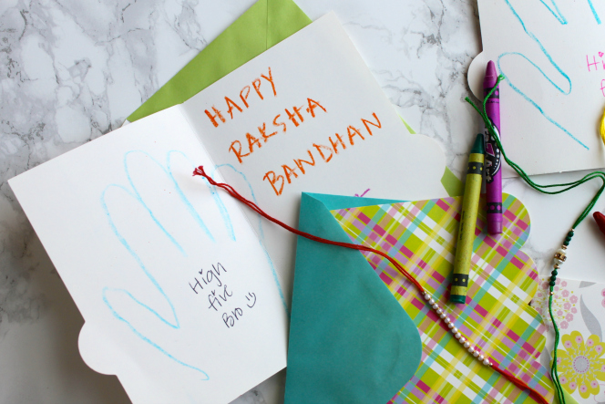 Celebrating Raksha Bandhan With A Toddler