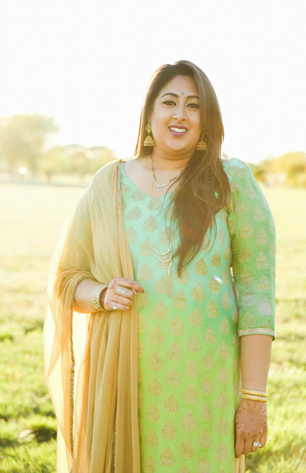Mix + Match: Ombré Kameez