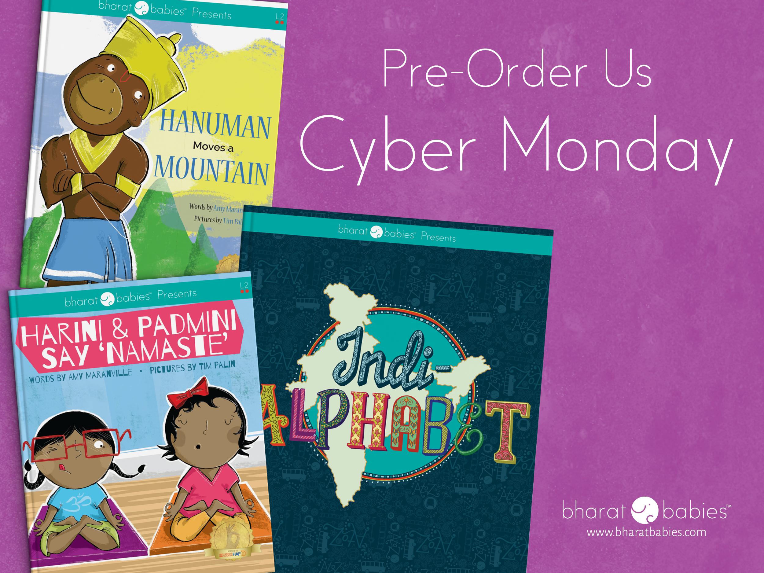Cyber Monday with Bharat Babies