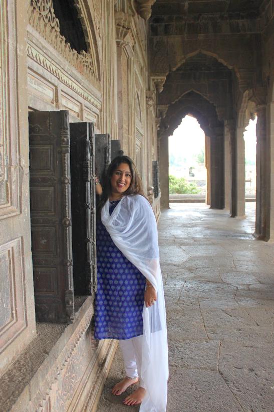 Visiting Ibrahim Rauza   Bijapur