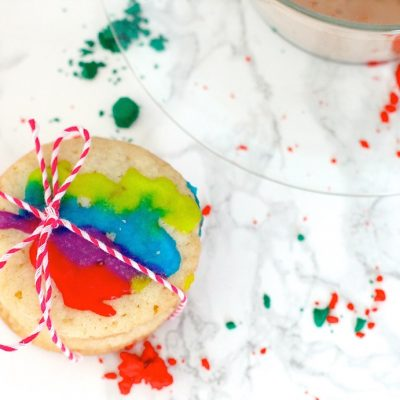 Holi Sugar Cookies