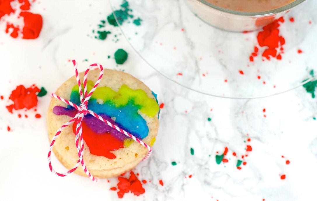 Holi Sugar Cookies