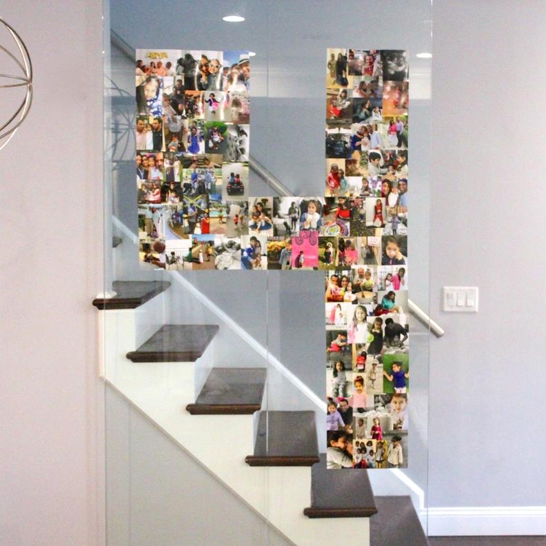 Birthday Photo Wall