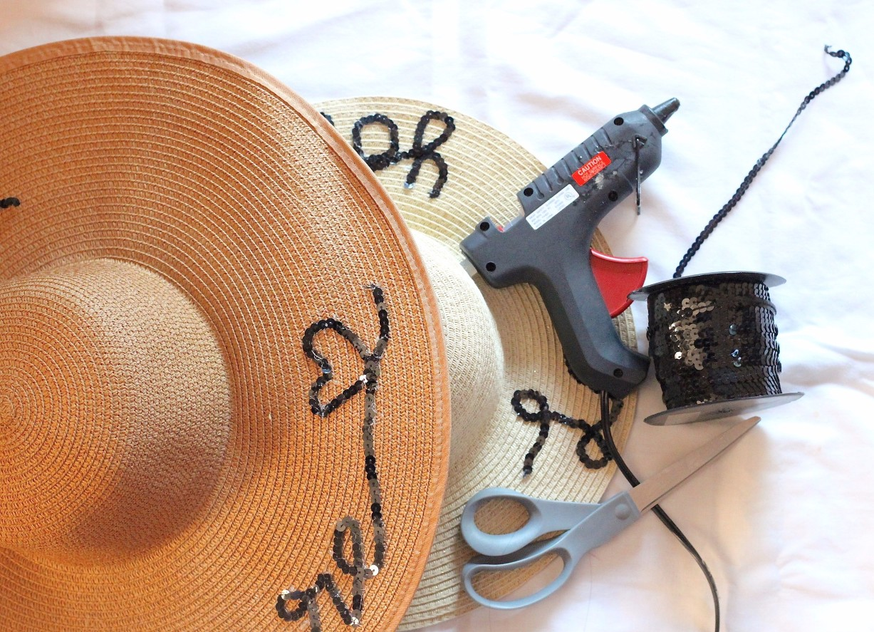 951a753e DIY Mother Daughter Straw Hats | Love Laugh Mirch