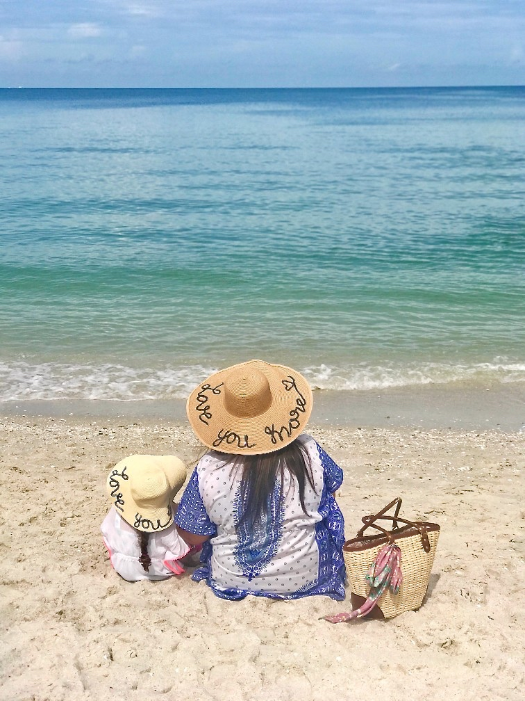 DIY Mother Daughter Straw Hats