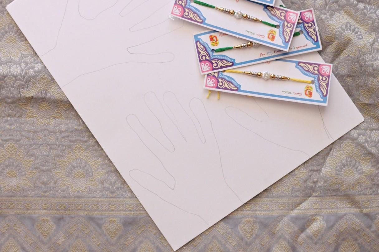 DIY Raksha Bandhan Cards