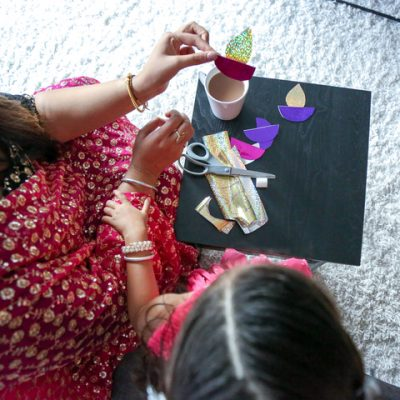 DIY Diya Garland