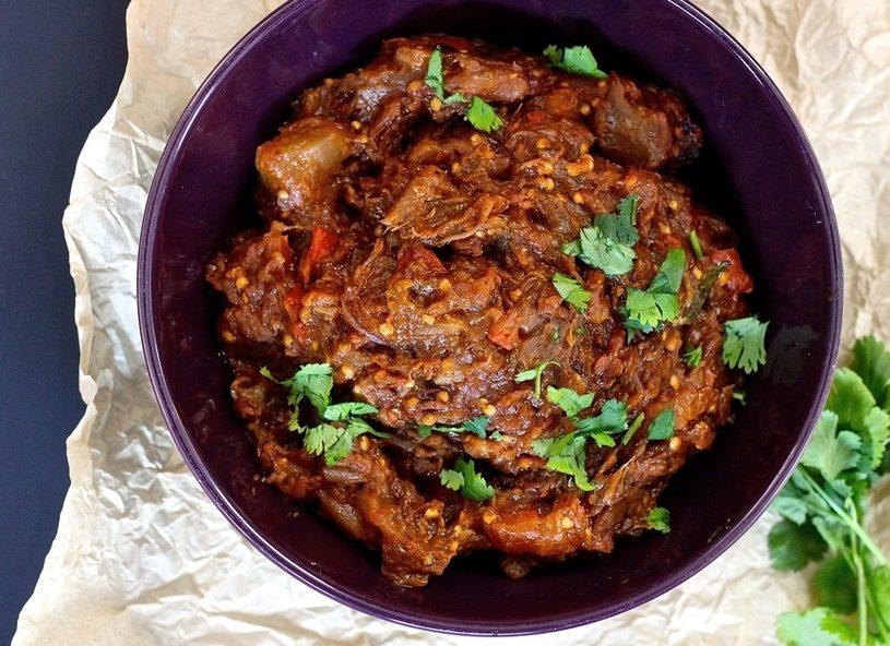 Baingan ka Bharta | Roasted Eggplant Mash