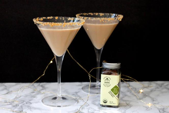 Spiced Chai Martini