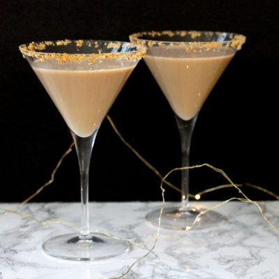 Spiced Chai Martini