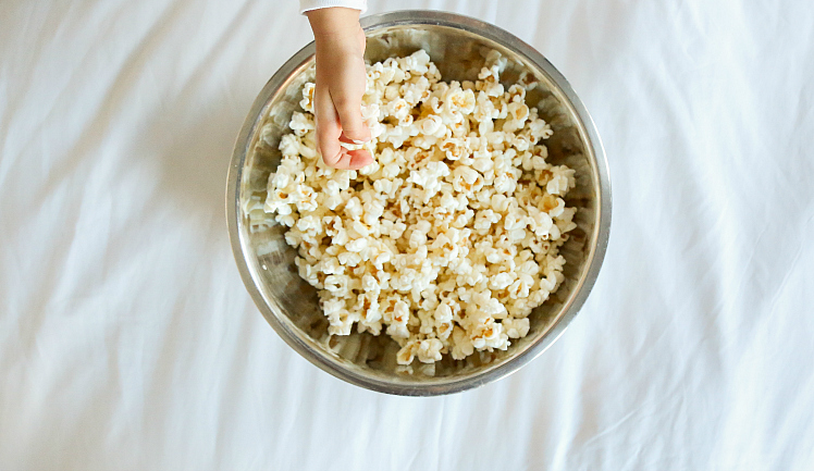 Easy Stovetop Popcorn + 12 Indian Inspired Flavors