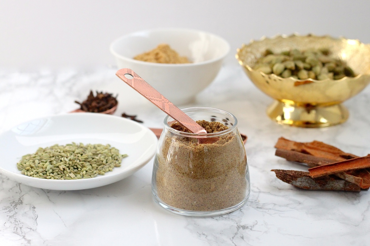 Homemade Chai ka Masala   How to make homemade chai masala, and Indian tea spice blend for the perfect cup of chai.