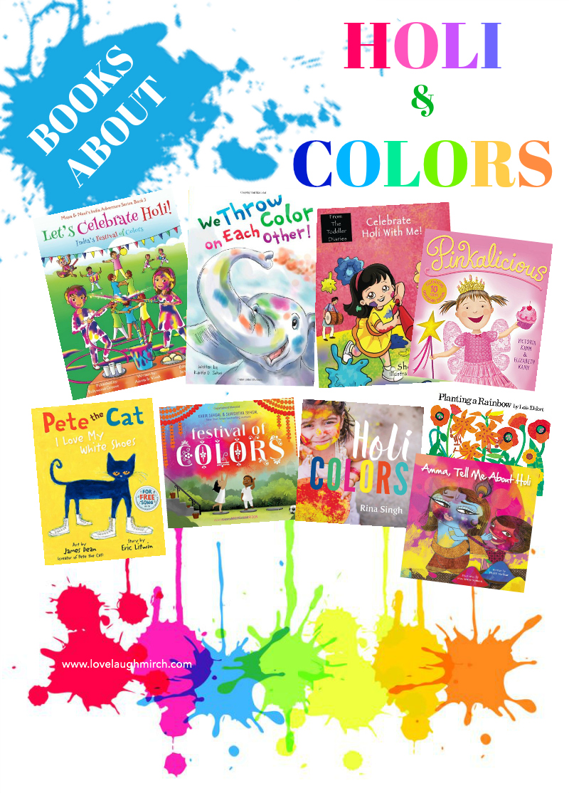 Books About Holi & Colors | Love Laugh Mirch